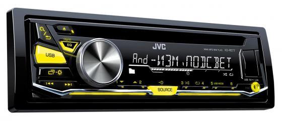 Автомагнитола JVC KD-R577 USB MP3 CD FM 1DIN 4x50Вт черный автомагнитола kenwood kdc 151ry usb mp3 cd fm 1din 4х50вт черный