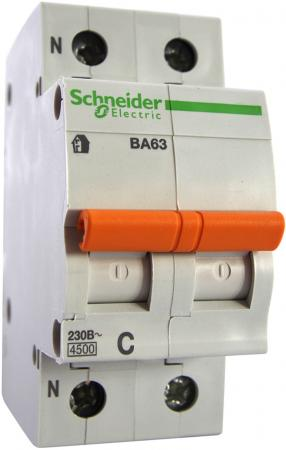 Автоматический выключатель Schneider Electric ВА63 1П+Н 40A C 11217