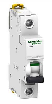 Автоматический выключатель Schneider Electric iC60N 1П 6A B A9F78106 автоматический выключатель schneider electric ic60n 1п 16a b a9f78116