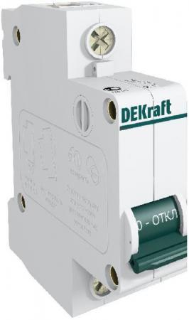 Автоматический выключатель DEKraft ВА-101 1П 10А C 4.5кА 11053DEK цена 2017