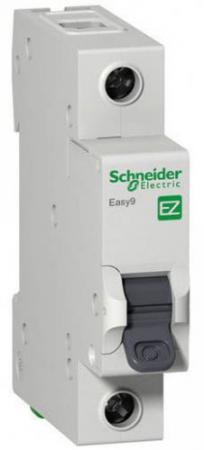 Автоматический выключатель Schneider Electric EASY 9 1П 63A C EZ9F34163 автоматический выключатель schneider electric ik60 1п 16a c a9k24116