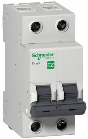 Автоматический выключатель Schneider Electric EASY 9 2П 20A C EZ9F34220 автоматический выключатель schneider electric easy 9 4п 32a c ez9f34432