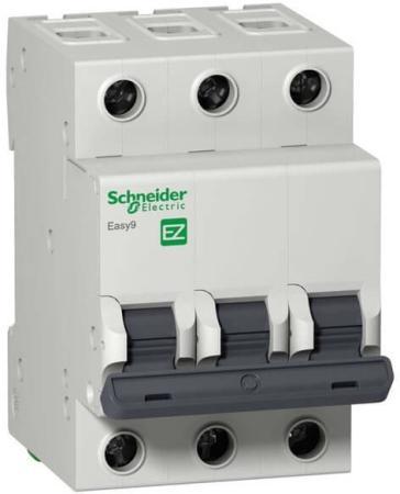 Автоматический выключатель Schneider Electric EASY 9 3П 20A C EZ9F34320 выключатель автоматический модульный schneider electric 3п c 40а 4 5ка easy 9 sche ez9f34340
