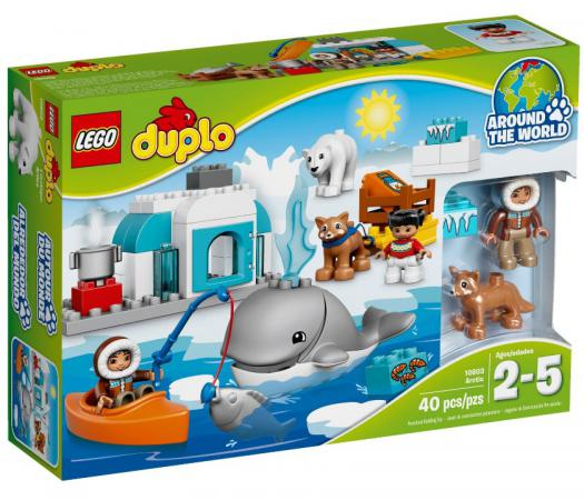 Конструктор LEGO Duplo: Вокруг света - Арктика 40 элементов 10803 конструктор lego duplo лошадки 20 элементов 10806