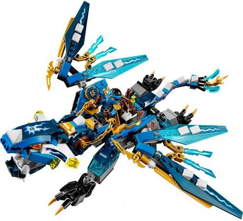цена  Конструктор LEGO Ninjago: Дракон Джея 350 элементов 70602  онлайн в 2017 году