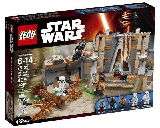 Конструктор Lego Star Wars: Битва на планете Такодана 409 элементов 75139 lego lego star wars 75139 битва планете такодана