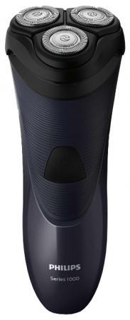 Бритва Philips S1100/04 чёрный philips hx9352 04