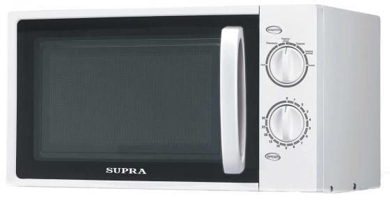 Микроволновая печь Supra MWS-1805MW 700 Вт белый supra mw g2101mw свч печь
