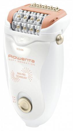 Эпилятор Rowenta EP 5700F0 белый/розовый эпилятор rowenta soft sensation ep 5700f0