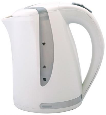 Чайник Smile WK 5118 2000 Вт 1.7 л пластик белый серый коляска прогул alf i smile line al 03 зеленый св серый