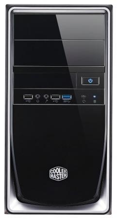 Корпус ATX Cooler Master Elite 344 Без БП чёрный серебристый RC-344-SKN2 корпус atx cooler master k280 без бп чёрный rc k280 kkn1