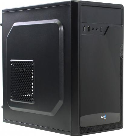 Корпус microATX Aerocool Cs-100 Advance Black Без БП чёрный 4713105955460 корпус aerocool p7 c1 bg