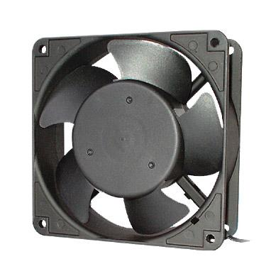 Вентилятор Hyperline KL-FAN-120x120x38-AC220-B28 120x120x38mm подшипник разъем под шнур free shipping for nidec v34809 35ent2 dc 12v 3 30a 4 wire 90mm 120x120x38mm server square fan