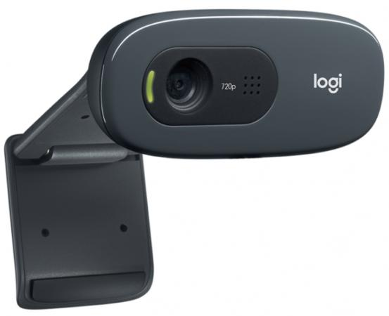 Веб-Камера Logitech Webcam C270 960-001063 веб камера logitech hd webcam c270 960 001063