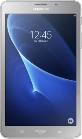 Планшет Samsung Galaxy Tab A 6 7 8Gb Silver Wi-Fi 3G Bluetooth LTE Android SM-T285NZSASER планшет samsung samsunggalaxy tab4 t231 3g wifi t230
