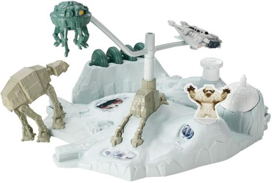 Игровой набор Hot Wheels Star Wars Hoth CGN33/CGN34 игровой набор hot wheels star wars tie fighter cgn33 cmt37