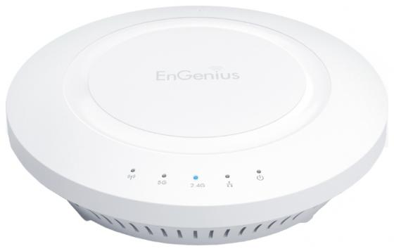 Точка доступа EnGenius EAP600 802.11n 600Mbps 2.4/5 ГГц маршрутизатор engenius enh900ext 802 11n 450mbps 5 ггц 2 4 ггц 2xlan белый