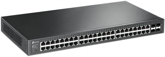 Коммутатор TP-LINK T1600G-52TS управляемый 48 портов 10/100/1000Mbps