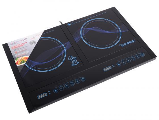 Индукционная электроплитка ENDEVER Skyline IP-34 чёрный индукционная электроплитка tesler pi 22 чёрный