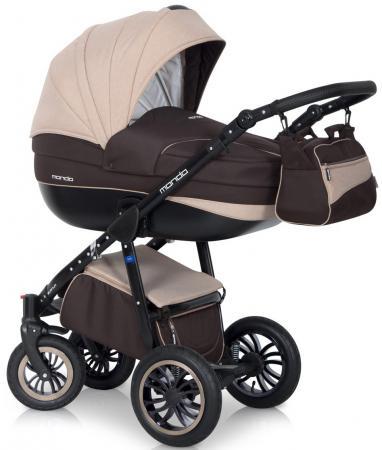 Коляска 2-в-1 Expander Mondo Ecco (25/коричневый-бежевый) коляски 2 в 1 expander mondo ecco 2 в 1