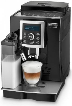 Кофеварка DeLonghi ECAM 23.464 B 1450 Вт черный кофемашина delonghi ecam 350 15 b 1450 вт черный