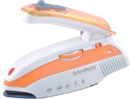 Утюг Endever Odyssey Q-708 1400Вт бело-оранжевый серьги с подвесками jv серебряные серьги с ювелирным стеклом e1366d us 002 wg
