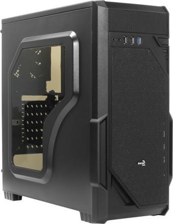 Корпус ATX Aerocool Vs-1 Window Без БП чёрный 58072 корпус corsair obsidian series 350d window cc 9011029 ww