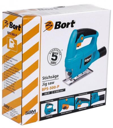 Лобзик Bort BPS-500-P 550Вт 93720315 лобзик электрический bort bps 505 p