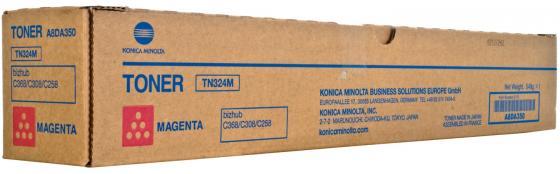 Тонер Konica Minolta A8DA350 TN-324M для bizhub C308/C368 пурпурный high quality transfer belt compatible for konica minolta bizhub pro c5500 c5501 c6000 c6500 c6501 c7000 c7000p c70hc