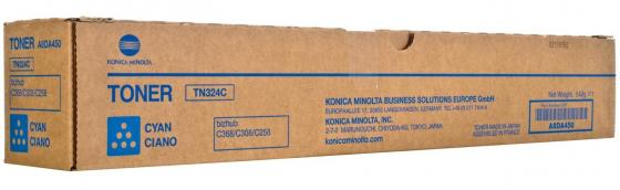 Тонер Konica Minolta A8DA450 TN-324C для bizhub C308/C368 синий high quality transfer belt compatible for konica minolta bizhub pro c5500 c5501 c6000 c6500 c6501 c7000 c7000p c70hc