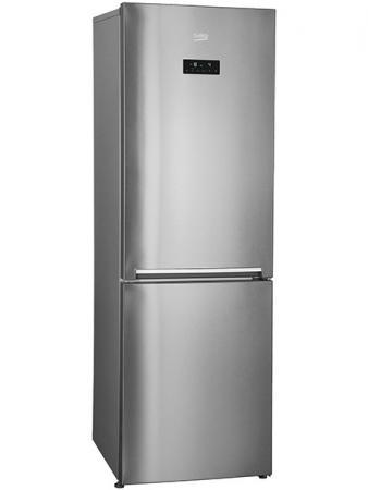 Холодильник Beko RCNK400E20ZGR серебристый холодильник beko rcsk310m20s серебристый