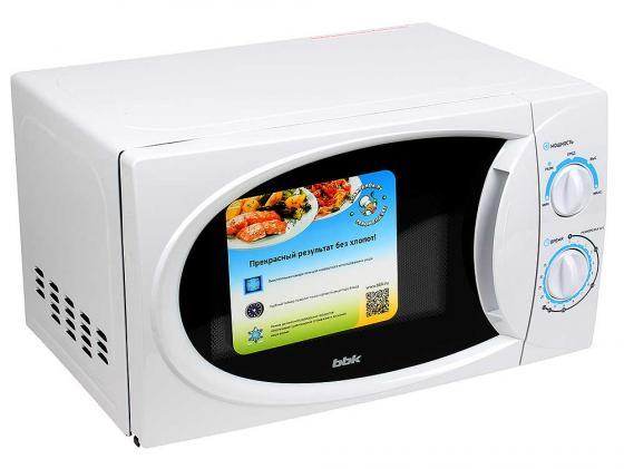 Микроволновая печь BBK 20MWS-710M/W 700 Вт белый