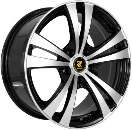 Диск RepliKey Ssang Yong Action New RK9553 7xR16 5x112 мм ET39 BKF диск replikey toyota camry 7xr17 5x114 3 мм et45 bkf [rk0806]