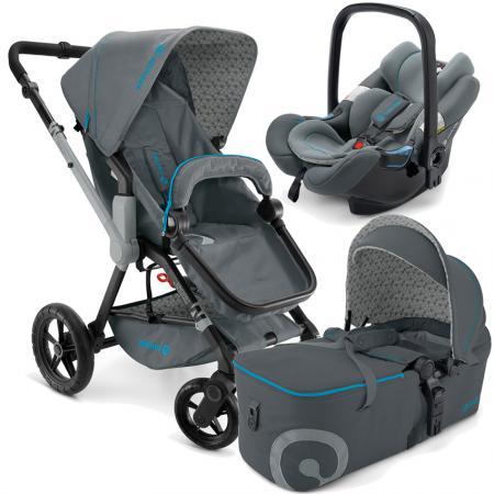 Коляска 3-в-1 Concord Wanderer Mobility Set (stone grey) прогулочные коляски mobility one e0970 texas