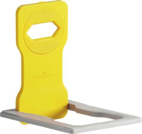 Держатель Durable Varicolor 7735-04 для смартфонов желтый durable varicolor orange держатель для мобильного телефона