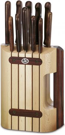 Набор ножей Victorinox Wood 11 предметов 5.1150.11 victorinox набор ножей для стейков swiss classic 6 пр 11 см 6 7232 6 victorinox