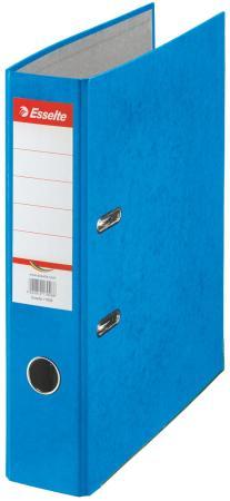 Папка-регистратор Esselte Rainbow А4 75мм картон синий 17925 папка регистратор esselte economy 10782p a4 75мм желтый