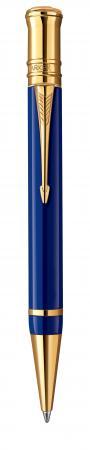Шариковая ручка поворотная Parker Duofold K74 черный M позолота 23К 1907186