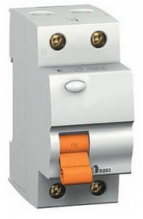 Выключатель дифференциального тока Schneider Electric ВД63 2П 16A 10мА 11454 выключатель двухклавишный schneider electric 16a e8232l2f wg