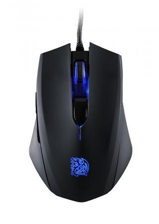 Мышь проводная Thermaltake MO-TLB-WDOOBK-01 чёрный USB мышь проводная tt esports by thermaltake azurues mini mo arm005dt black