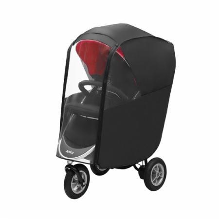 Дождевик для колясок Aprica Smooove (черный) москитные сетки baby smile для колясок combi и aprica