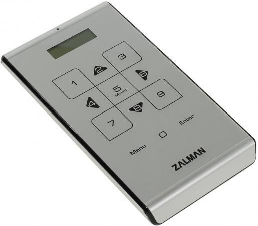 """все цены на Внешний контейнер для HDD 2.5"""" SATA ZALMAN ZM-VE500 USB3.0 серебристый онлайн"""