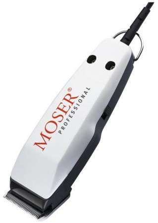 Машинка для стрижки волос Moser 1411-0086 белый moser машинка для стрижки аккумулятор сеть moser li pro