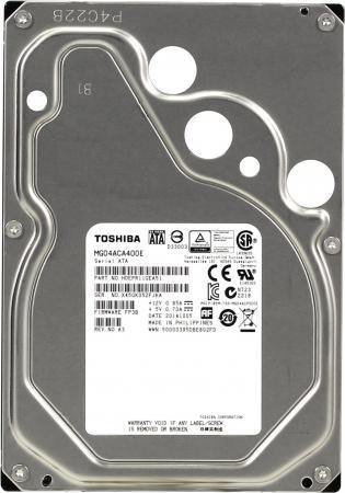 Купить Жесткий диск 3.5 4 Tb 7200rpm 128Mb cache Toshiba MG04ACA400E SATA III 6 Gb/s, Жесткий диск для сервера