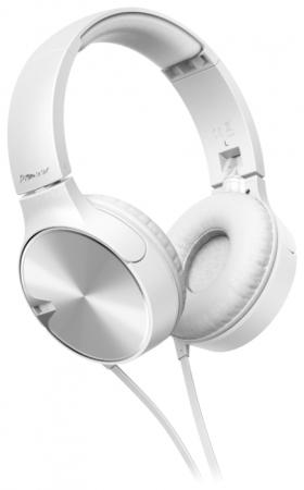 все цены на  Наушники Pioneer SE-MJ722T-W белый  онлайн
