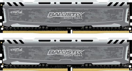 Оперативная память 32Gb (2x16Gb) PC4-19200 2400MHz DDR4 DIMM Crucial BLS2C16G4D240FSB цена