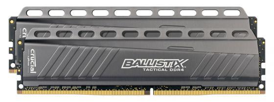 Оперативная память 16Gb (2х8Gb) PC4-21300 2666Hz DDR4 DIMM Crucial BLT2C8G4D26AFTA оперативная память 4gb pc4 21300 2666hz ddr4 dimm crucial ble4g4d26afea