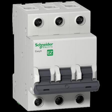 Автоматический выключатель Schneider Electric EASY 9 3П 32A C EZ9F34332 автоматический выключатель schneider electric easy 9 3п 40a c ez9f34340