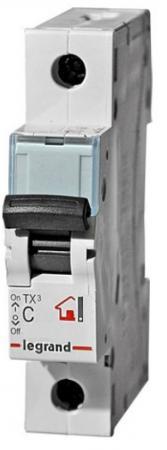 Автоматический выключатель Legrand TX3 6000 10кА тип C 1П 13А 403915  автоматический выключатель legrand tx3 6000 тип c 1п 40а 404032