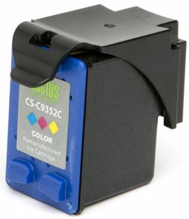 Картридж струйный Cactus CS-C9352C №22XL многоцветный для HP DJ 3920/3940/D1360/D1460/D1470/D1560/D2330/D2360 (21мл) картридж hp 17 многоцветный [c6625a]